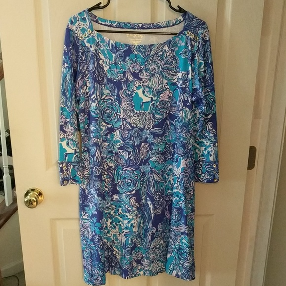 706dde8dcd38a7 Lilly Pulitzer Dresses | New With Tags Lilly Dress Size Large | Poshmark